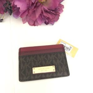 Micheal Kors Credit Card Case Wallet